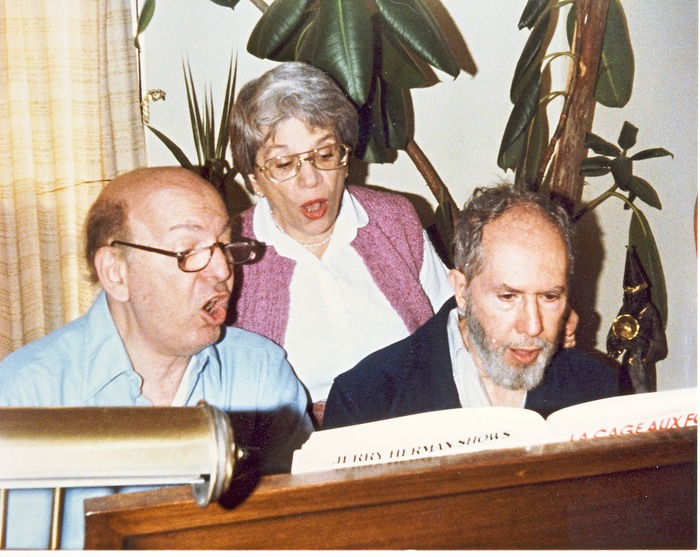 1984; with Norma and Herb Hersh