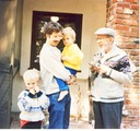 1991 with Lon, Jesse and Max