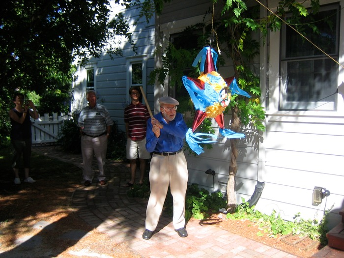 Norm and 90th Birthday Piñata